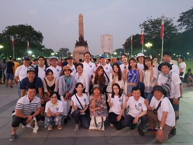 Koreans tour in the Philippines